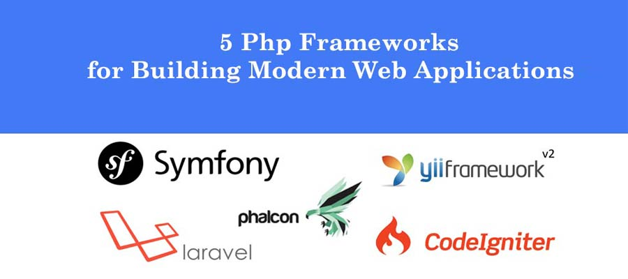 5 PHP Frameworks for Building Modern Web Applications