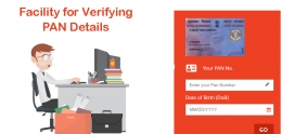 Facility for verifying PAN details