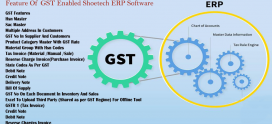 Feature Of GST Enabled Shoetech ERP Software